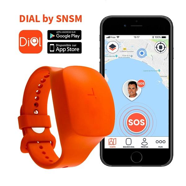 DIAL montre connectée pour alerter les secours en mer kitesurf zoomkite