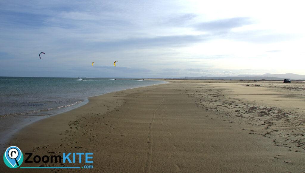 la plage de la vieille nouvelle spot de glisse zoomkite