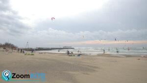 Spot Kitesurf : Plage Richelieu au Cap d'Agde
