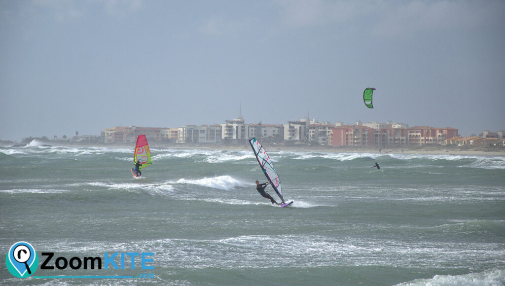 spot de kitesurf plage de richelieu cap d'agde