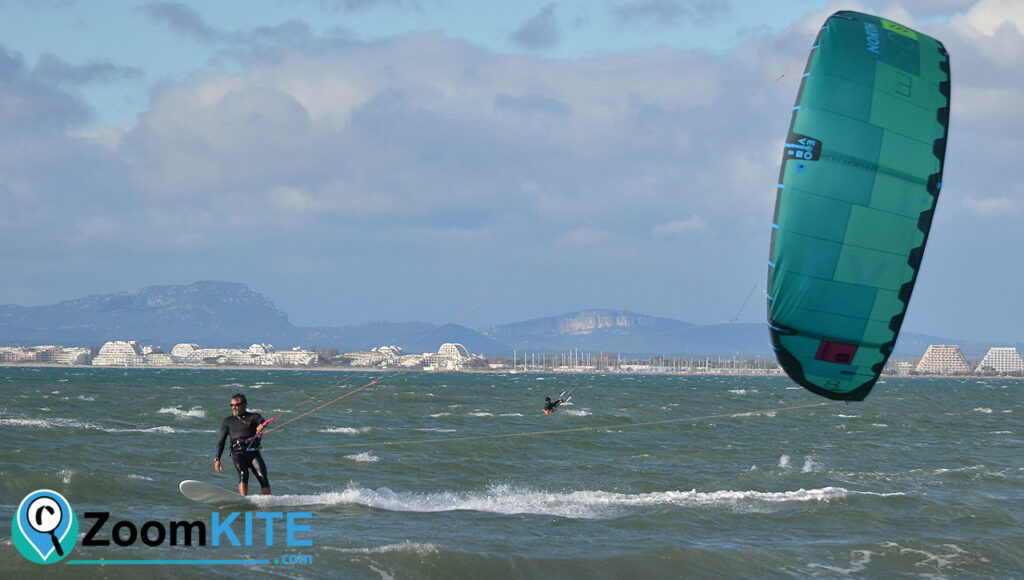 spot de kitesurf plage sud port camargue surfkite zoomkite