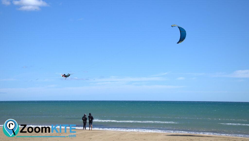 zone de kite a gruissan la vieille nouvelle zoomkite