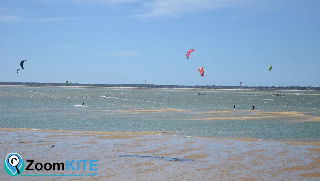 zone de kite aux arbousiers