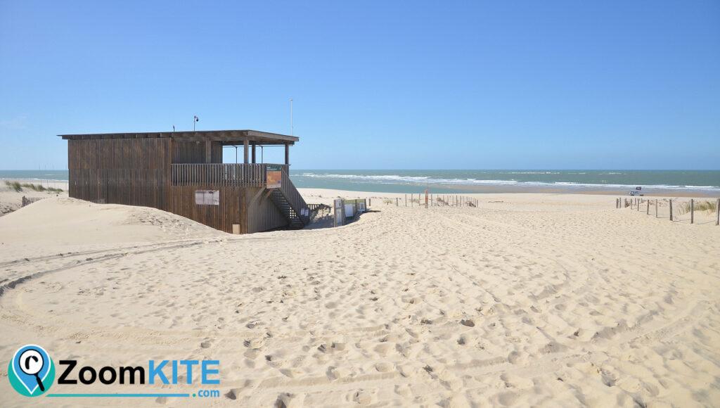 zone de kite la salie à La Teste-de-Buch