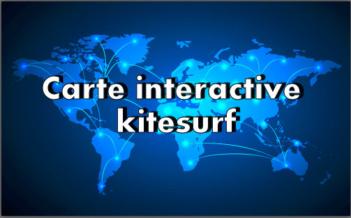 zoomkite carte interactive kitesurf association professionnel webcam balise spots